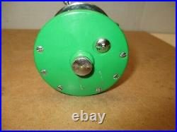 Penn Monofil No 26 Reel- Rare Green Side Plates- COLLECTORS CHOICE REEL