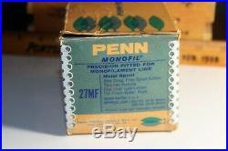 Penn Monofil No 27 MF Reel with original box