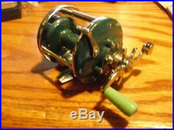 Penn Peerless No 9 Vintage Reel Rare Green
