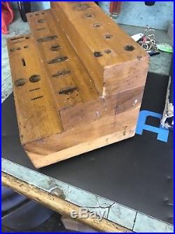 Penn Reel Fishing Tool Kit Wood Block