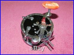Penn Reel M# 49 Deep Sea Reel with Wire Line Vintage Used Clean