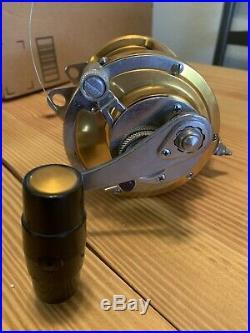 Penn Reels International II 50 SW 2 Speed Fishing Reel Vintage Saltwater USA