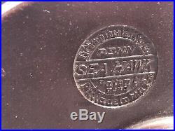 Penn Sea Hawk 1930s Vintage Fishing Reel, Rare Collectible, SeaHawk