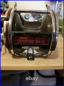 Penn Senator 114HL vintage fishing reel