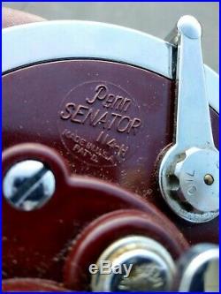 Penn Senator 114H Fishing Reel Vintage NOS Collectible