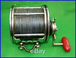 Penn Senator 12/0 big game sea fishing reel with catalogues tools and makers box