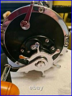 Penn Senator 12/o Vtg Big Game Reel Used Breifly Once In Stunning Condition And