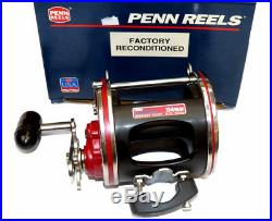 Penn Senator 2 114H reel 6/0 high speed multiplier factory reconditioned in box