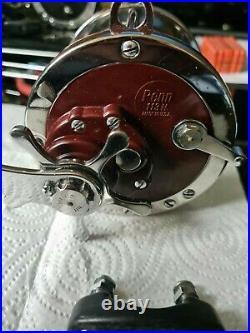 Penn Senator 4/0 113h Hi Speed Vtg Big Game Reel (usa) In A Stunning Hardly Used