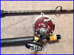 Penn Senator 6/0 114-H Big Game Reel On An Offshore Angler 30/50lb Rod