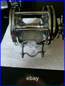 Penn Senator 6/0 Vtg Big Game Reel (usa) In A Superb Used Condition+rod Clamp