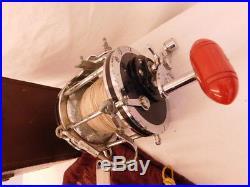 Penn Senator 9/0 Reel Pouch & Leather Case 1951-1955 Big Game Deep Sea Fishing