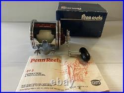 Penn Senator II 114HL 6/0 Big Game Saltwater Fishing Reel Vintage USA MADE