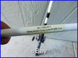 Penn Slammer Deep Sea Fishing Rod 113H Special 4/0 Senator Red Chrome Black #3