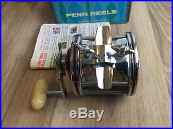Penn Special Senator 112h 3/0 H Vintage Reel In Original Box