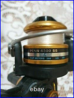 Penn Spinfisher 4300ss Spinfisher Series Spinning Reel (made In Usa)
