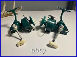 Penn Spinfisher Greenie 710 & 711 Pair Lh/rh Retrieve Made In U. S. A