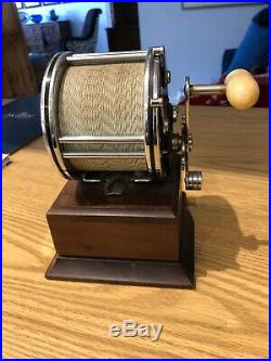 Penn no. 49 Reel Clock And compass Vintage