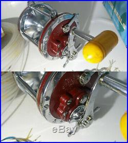 Penn sea fishing multiplier reel senator 6/0 114h mepp 155 lure spinner vintage
