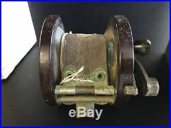 Penn sea ford fishing reel and box from the estate of audie murphy