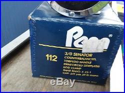 Penn senator 3/0 reel, Penn Senator 3/0 112 New in box, Penn Reels, Vintage Reels