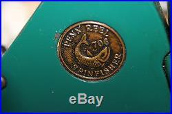 Rare Early Manual Pick Up Vintage USA Penn 706 No Bail Spinning Reel