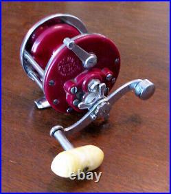 RARE Purple Penn MONOFIL No. 27 Salt Water Trolling Casting Reel Minty