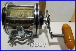 RARE VINTAGE PENN SENATOR 114 6/0 SALT WATER FISHING REEL with BOX