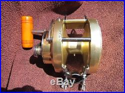 Rare Early Vintage Model Penn International 20 Big Game Reel GOOD WORKING COND