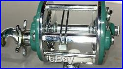 Rare GREEN Penn Peerless No. 9 fishing reel Excellent Condition Vintage