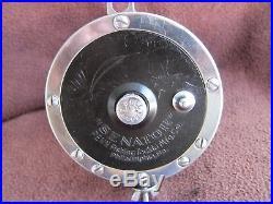 Rare Vintage BLACK Penn Senator 114H 6/0 Big Game Reel (#2) EXEC COND