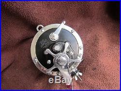 Rare Vintage BLACK Penn Senator 114H 6/0 Big Game Reel EXEC COND