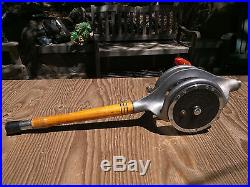 Rare Vintage Nep-Tuna Cradle with Penn Senator 12/0 Big Game Reel Mounted