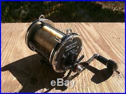 Rare Vintage Newell P454-F Ball Bearing Big Game Fishing Reel