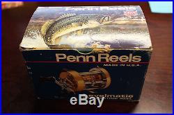 Rare Vintage Penn 940 Levelmatic Fishing Reel LNIB With Original Packaging Nice