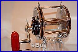 Stunning Old Vintage Fishing Rod Reel Penn 6/0 Senator Collectible Display Lure