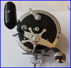 SUPERB VINTAGE PENN No49 DEEP SEA REEL LITTLE USED CONDITION LOADED WITH BRAID