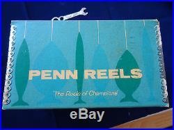 Super Boxed Vintage Penn 6/0 Senator Multiplier Big Game Reel