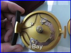 Stunning vintage sharpes penn gold medal freshwater no 1 trout fly fishing reel