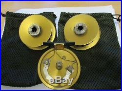 Unused vintage sharpes penn gold medal freshwater no 1 fly fishing reel + spool