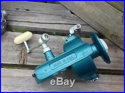 VINTAGE 1960's Penn 704 Spinfisher Greenie fishing spinning reel mint condition