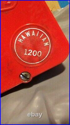 VINTAGE ElecTra Mate 1200 Hawaiian WITH PENN SENATOR MOUNTED & READY FOR TUNE UP