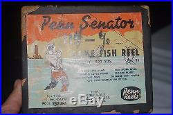 Vintage Lot Of 7 Reels, Bait Casting And Spin Cast, Penn, Pflueger-