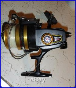 VINTAGE PENN 6500ss SPINNING REEL-MADE IN THE USA-MINT IN BOX With Manuel
