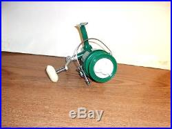 VINTAGE PENN 711 SPINFISHER SPINNING FISHING REEL GREENIE LEFTY with ORIG BOX ETC