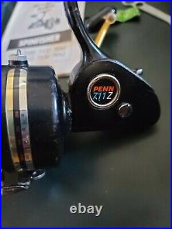 VINTAGE PENN 712Z Spinning Reel Very Good Condition 712 Z USA Made with manual