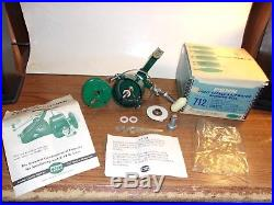 VINTAGE PENN 712 SPINFISHER SPINNING REEL with BOX & PAPERS, WRENCH, CONTENTS NICE
