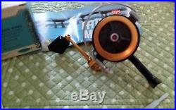 Vintage Penn 722 Z Spinning Reel With Paperwork And Box Good Shape