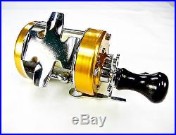 Vintage Penn 940 Levelmatic Baitcasting Reel Original Box Never Used