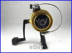 VINTAGE PENN FISHING 5500SS High Speed Fishing Rod & Reel Gold/Black, 461
